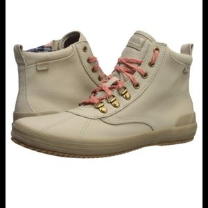 10 GUC Scout Keds High Top Pink Laced Sneakers